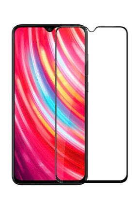 Microsonic Redmi Note 8 Pro Tam Kaplayan Temperli Cam Microsonic Ekran Koruyucu Siyah 0