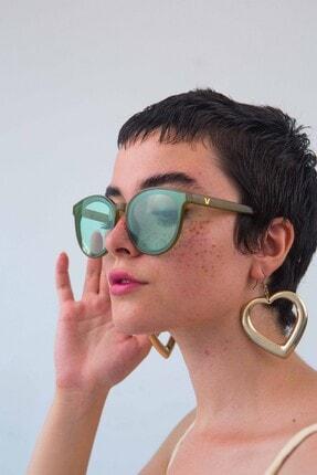 Bilge Karga Kadın Yeşi lGüneş Gözlüğü 3