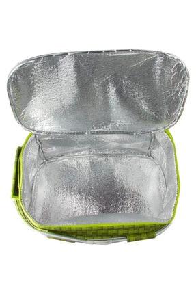 Weigo Thermo Bag Termoslu Piknik Sepeti - Piknik Çantası Yeşil 1