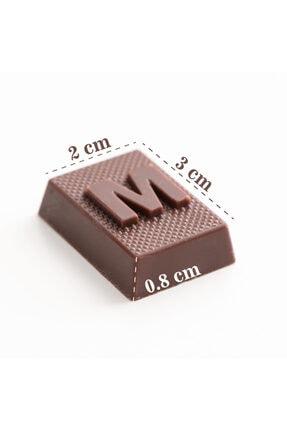 Hediyesepeti Yeni Aşıklara Hediye Romantik Mesajlı Harf Çikolata 4