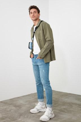 TRENDYOL MAN Mavi Erkek Skinny Jeans TMNSS20JE0261 1