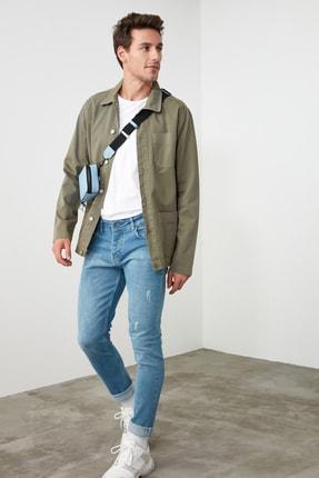 TRENDYOL MAN Mavi Erkek Skinny Jeans TMNSS20JE0261 0