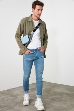 TRENDYOL MAN Mavi Erkek Skinny Jeans TMNSS20JE0261 2