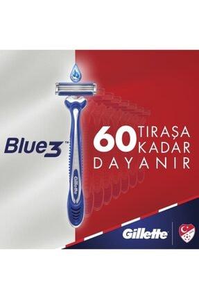 Gillette Milli Takım Özel Seri Blu3 6 Adet Tıraş Köpüğü 200 ml 1