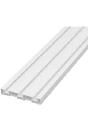 Çelik Fırat 3'lü 3 Raylı Perde Rayı Korniş (1'nci Kalite) 5 Metre 1
