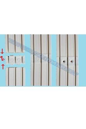 Çelik Fırat 3'lü 3 Raylı Perde Rayı Korniş (1'nci Kalite) 5 Metre 2