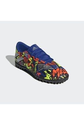 adidas Erkek Messi Halı Saha Ayakkabısı 4