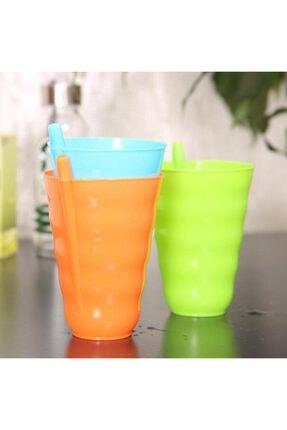 Ati Plastik Bebek ve Çocuk Sip Süt Kupası  3 Adet Renkli Bardak Kutulu 0