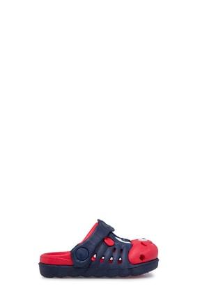 Akınalbella Unisex Lacivert Kırmızı Sandalet 1