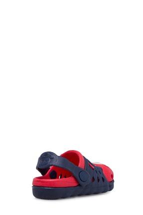Akınalbella Unisex Lacivert Kırmızı Sandalet 2