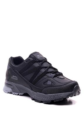 Slazenger Arasta Koşu & Yürüyüş Erkek Ayakkabı Siyah 1
