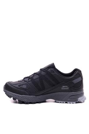 Slazenger Arasta Koşu & Yürüyüş Erkek Ayakkabı Siyah 2