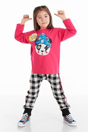 Mushi Lol Panda Kız Pantolon Takım 0