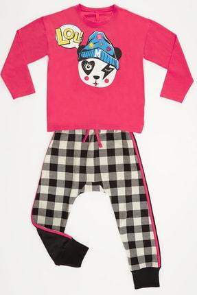 Mushi Lol Panda Kız Pantolon Takım 2