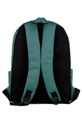 Slazenger Yeşil Üç Bölmeli Okul, Günlük Ve Seyahat Sırt Çantası - 10105 1
