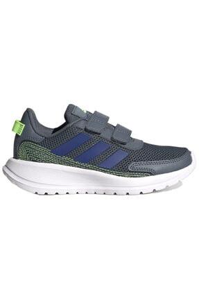 adidas TENSAUR RUN C Gri Erkek Çocuk Koşu Ayakkabısı 100663742 0