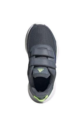 adidas TENSAUR RUN C Gri Erkek Çocuk Koşu Ayakkabısı 100663742 3