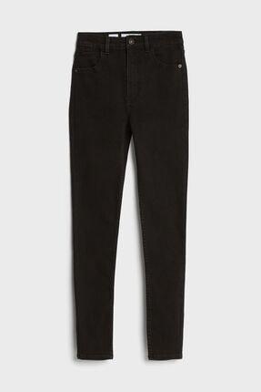 Bershka Kadın Siyah Süper Yüksek Bel Jean 1