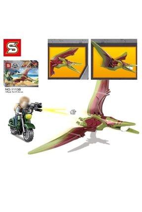 e-life Es1113 Lego Blok Yapı Jurassic Park Jurassic World Serisi 4 Paket Bir Arada 2