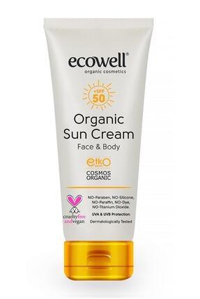 Ecowell Organik Güneş Kremi 50 Spf 0