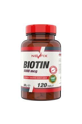 Nevfix B12 Folic Acid&biotin 120 Tablet Biotin 5000 Mcg 120 Tablet 1
