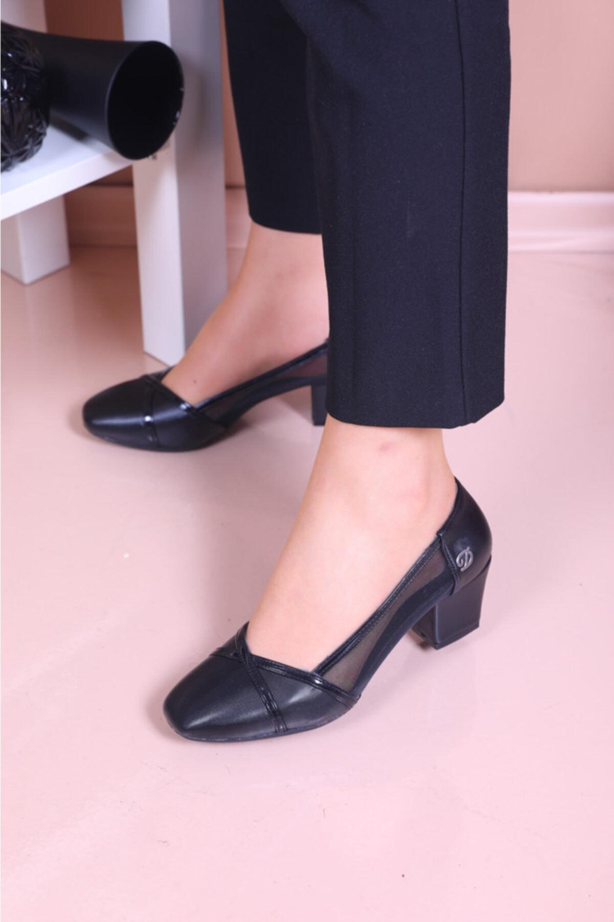 Kadın Siyah Klasik  Ayakkabısı