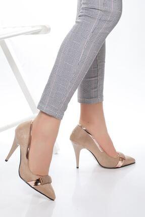 derithy -klasik Topuklu Ayakkabı-vizon Süet 0