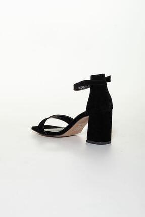 derithy -klasik Topuklu Ayakkabı-siyah Süet 3