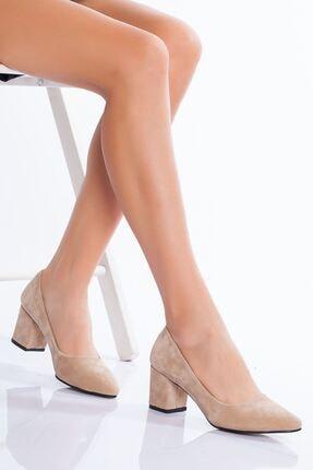 derithy -klasik Topuklu Ayakkabı-ten Süet 0