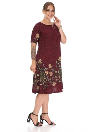 Alesia Çiçekli Kısa Kol Elbise 3