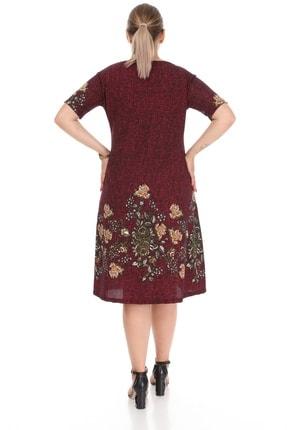 Alesia Çiçekli Kısa Kol Elbise 4