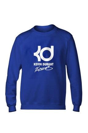 Fanatico Erkek Mavi Kevin Durant Basic Sweatshirt 0