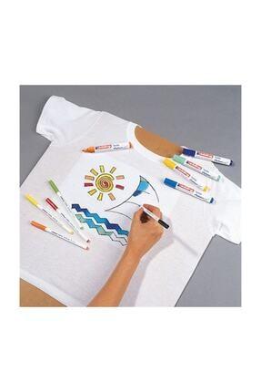 Edding 4600 tekstil kalem seti, karışık 10 temel renk 1