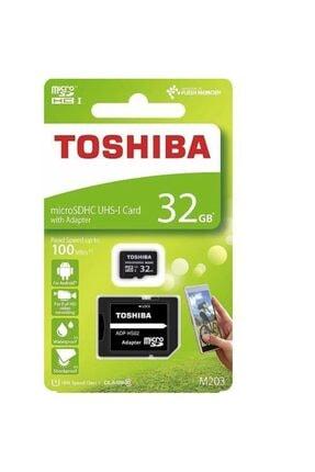Toshiba 32gb Micro Sdhc Uhs-1 Thn-m203k0320ea Bellek Kartı 0