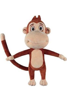 Kukuli Müzikli Peluş Oyuncak Maymun 0