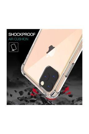 Apple Shock Absorbing Kılıf, Microsonic Iphone 11 Pro (5.8'') Şeffaf 3