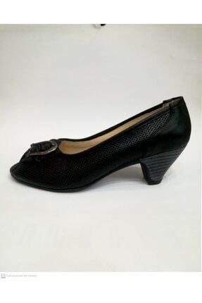Floor Kadın Siyah Topuklu Ayakkabı 1