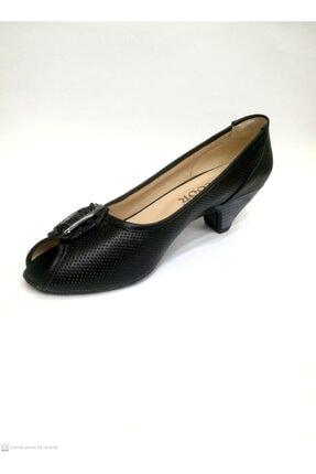 Floor Kadın Siyah Topuklu Ayakkabı 3