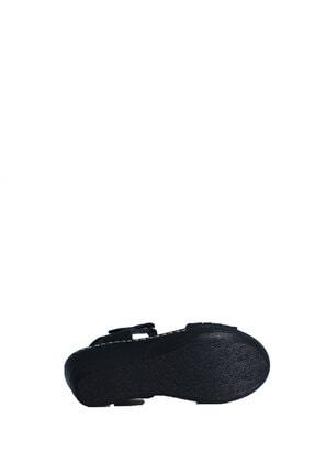 ELLANOR Kadın Siyah Günlük Sandalet 4