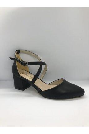 Kadın Siyah Klasik Topuklu Ayakkabı klasik topuklu ayakkabı 000012