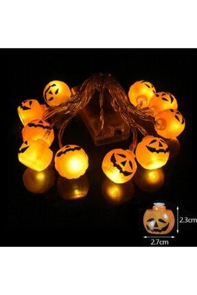 Pi İthalat Balkabağı Şekilli Pilli Cadılar Bayramı Halloween Süsleme 1 3
