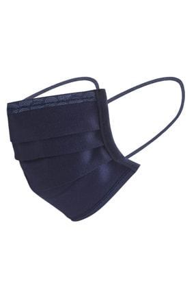 Maisonette Yıkanabilir Pamuklu Yüz Maskesi 5 Li Paket Lacivert 1