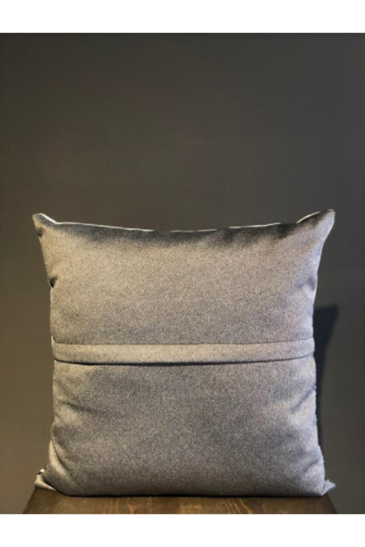 Household Ros Kırlent, Boncuk Elyaf Dolgulu Yıkanabilir Kılıflı Lüks Kırlent 40x40cm