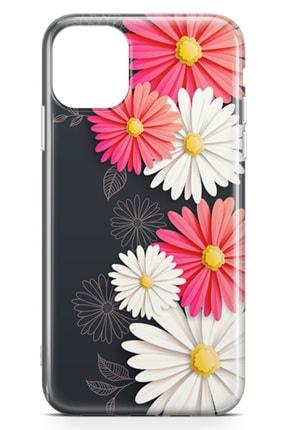 Lopard Apple Iphone 11 Pro Kılıf Papatyalar Acarken Arka Kapak Koruma Desenli Full Koruyucu 1