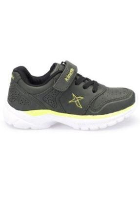 Kinetix Skorty Haki Lime Erkek Çocuk Spor Ayakkabı 1