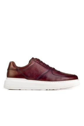 Cabani Erkek Kahverengi Sanetta Deri Ayakkabı 1