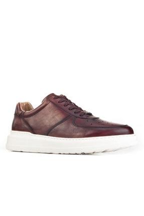 Cabani Erkek Kahverengi Sanetta Deri Ayakkabı 2