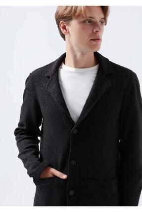 Picture of Düğmeli Siyah Ceket