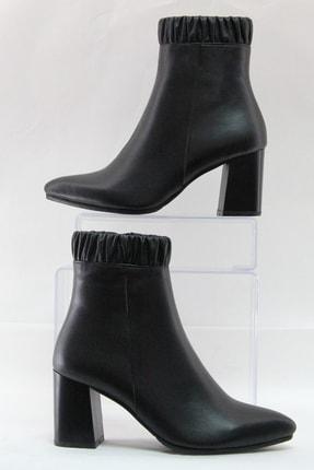 Sterk Ayakkabı Siyah Hakiki Deri Kadın Bot 1