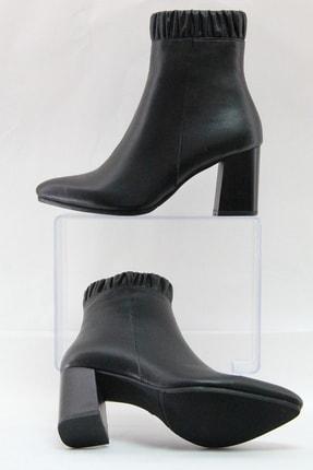 Sterk Ayakkabı Siyah Hakiki Deri Kadın Bot 2